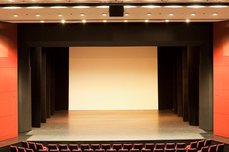 Bühne Theatersaal